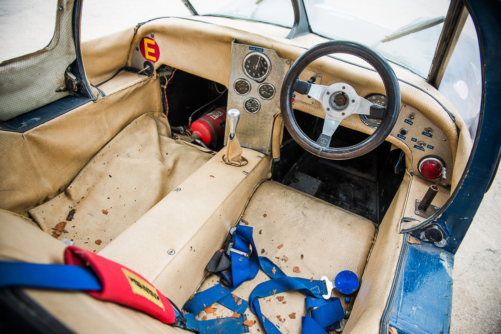 Car is being offered in 'barn find' condition
