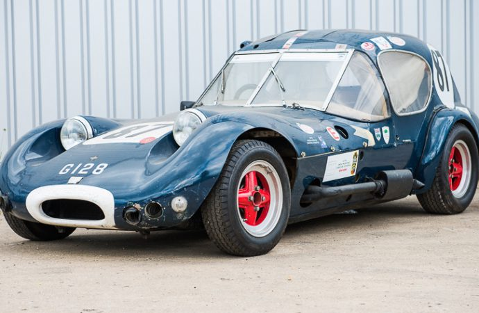 Jackie Stewart's first race car headed to Silverstone auction