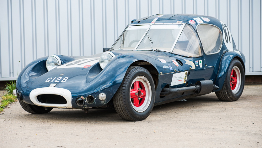 This Marcos GT Xylon was the first car raced by Jackie Stewart | Silverstone Auctions