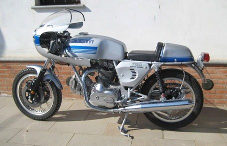 The 1974 Ducati 750 SS is an extremely rare '70s superbike | Coys