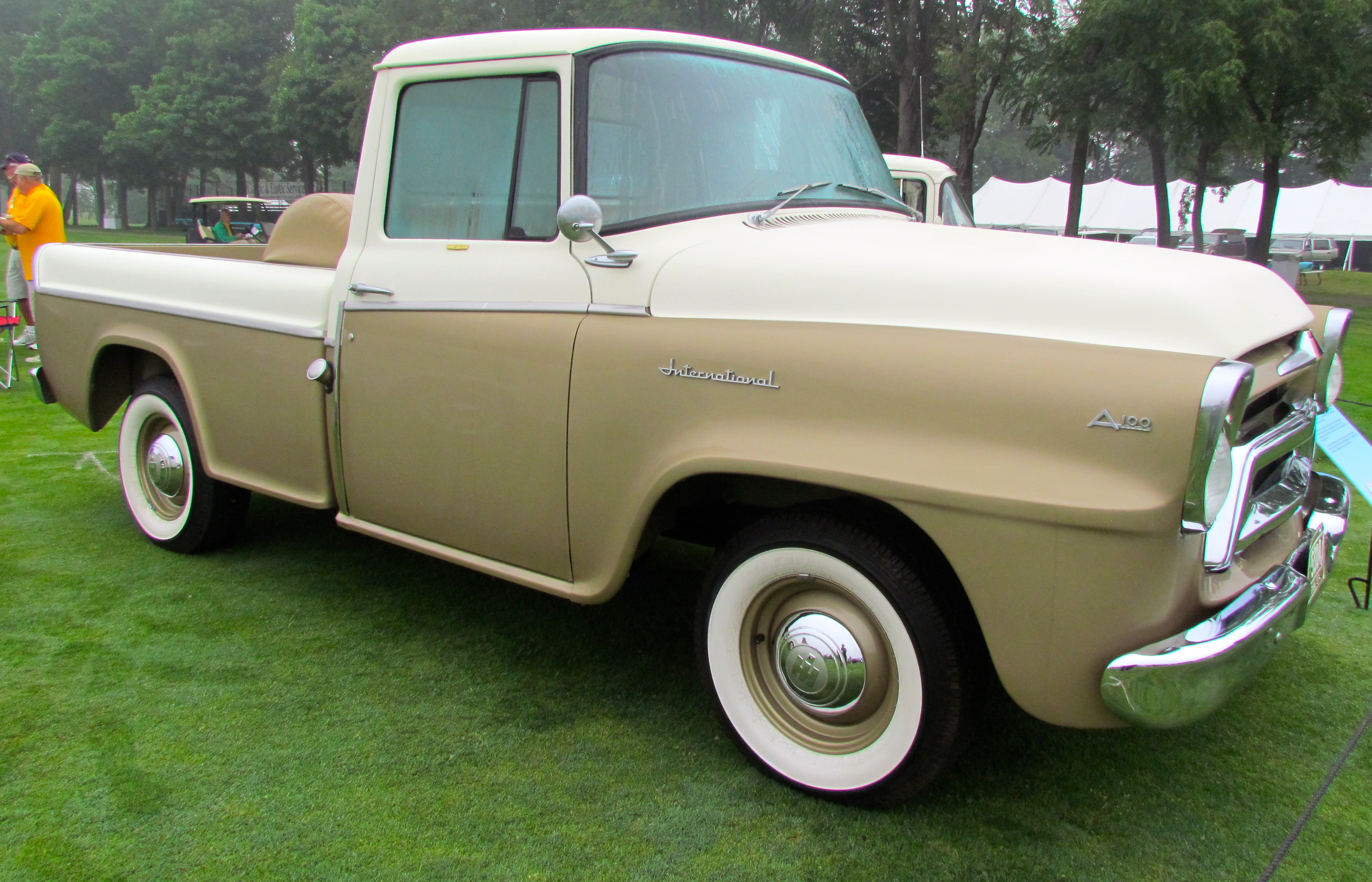 Jet Age Pickup Trucks At Concours Delegance Of America 1957 Dodge D100 Wiring Diagram Theyre