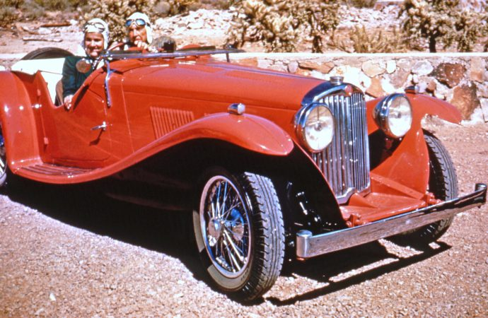 Architect Frank Lloyd Wright's AC roadster to debut after restoration at 2015 Arizona Concours