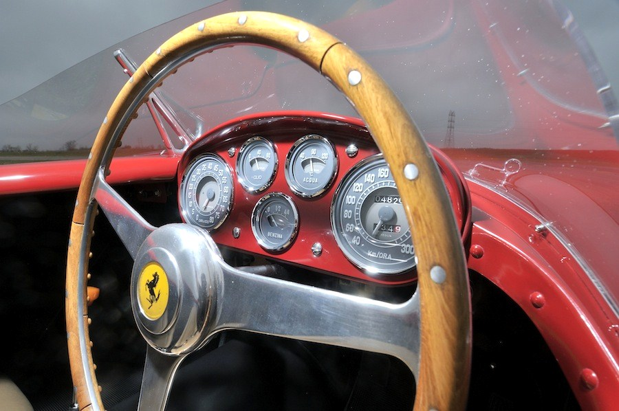 The Ferrari has been authentically restored | Mecum Auctions