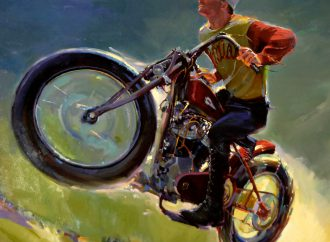 Eye Candy: Vroom: The Art of the Motorcycle at Forest Lawn