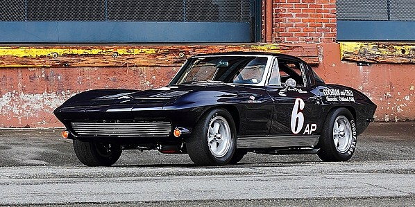 The 1963 Corvette Z06 has been restored as Paul Reinhart raced it | Mecum Auctions