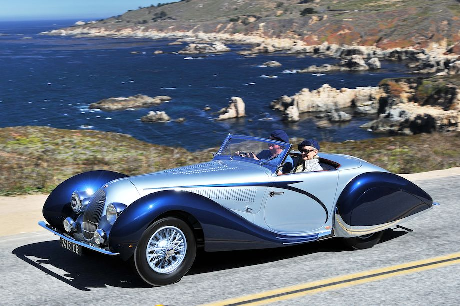 Tom Price's 1938 Talbot-Lago T150 C SS is among the cars expected for The Quail, A Motorsports Gathering | photos courtesy of the event
