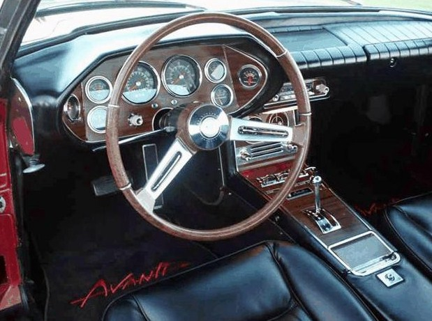 The Avanti's interior looks immaculate