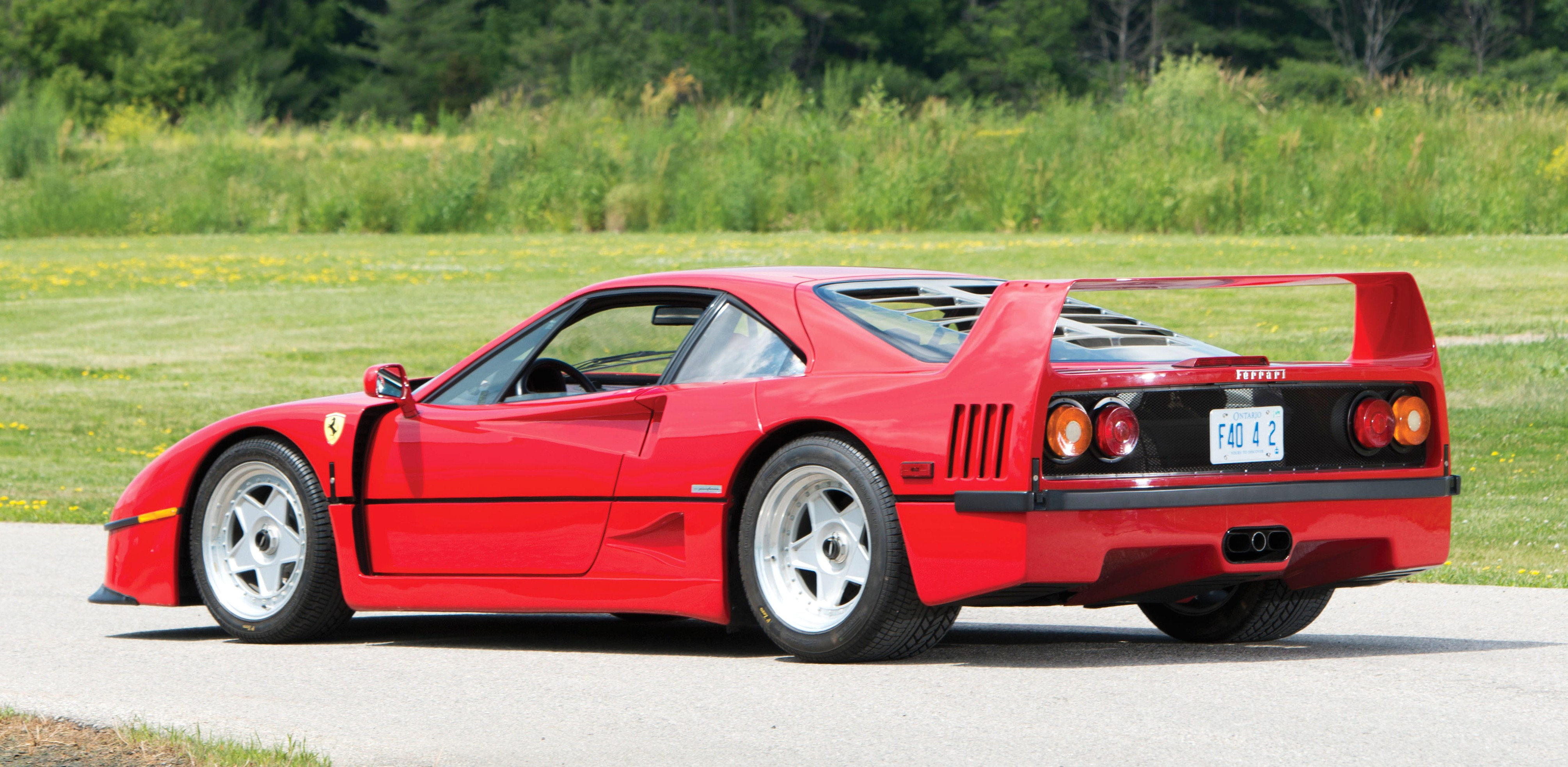 Ferrari F40 Once Owned By Rod Stewart Goes To Auction