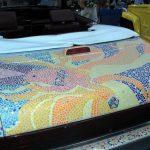Lebaron ragtop, with mosaic tile art