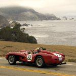 1958 Ferrari Testa Rossa Scaglietti Spider on Pacific Coast Hwy #574-Howard Koby photo