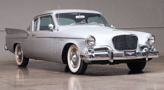 A 1959 Studebaker Silver Hawk sold for a bargain $13,750 | Auctions America