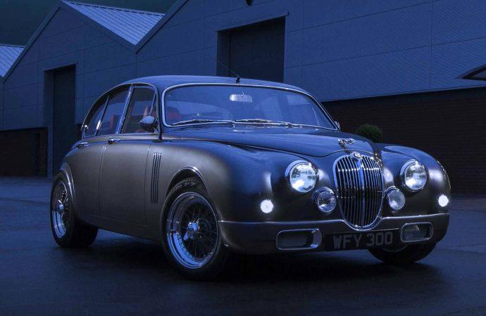 Jaguar designer updates his classic Mark 2