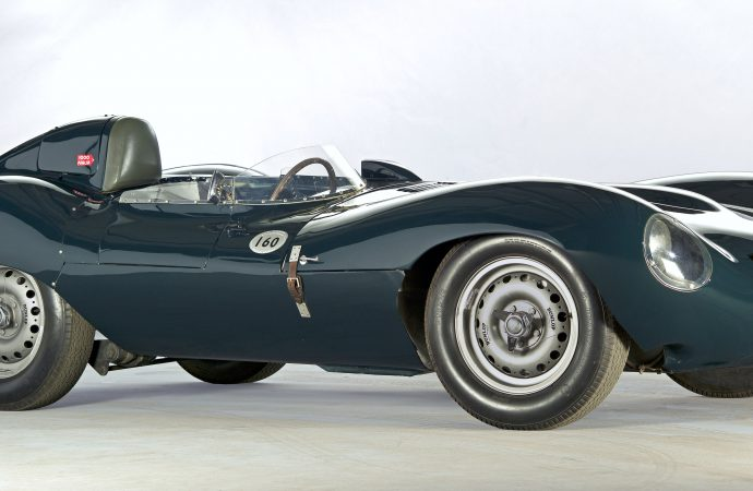 Jaguar D-Type 60th anniversary celebration includes restoration debut of long-lost car
