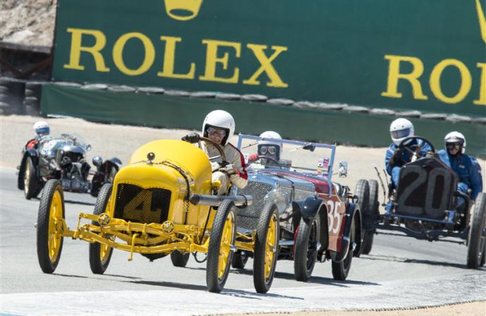 Ford Falcon owner takes top honors at Rolex Monterey Motorsports Reunion