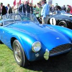 (6) 1962 Shelby Cobra 260 prototype, the first Cobra built, in a special display marking Cobra's 50th anniversary
