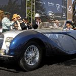 BEST OF SHOW- 1938 Talbot Lago T150 C SS-displayed by Gwen and Tom Price #497-Howard Koby photo