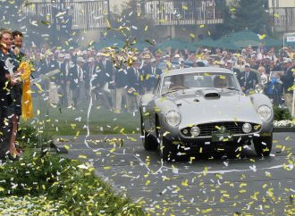 A Ferrari rushes into uncharted territory