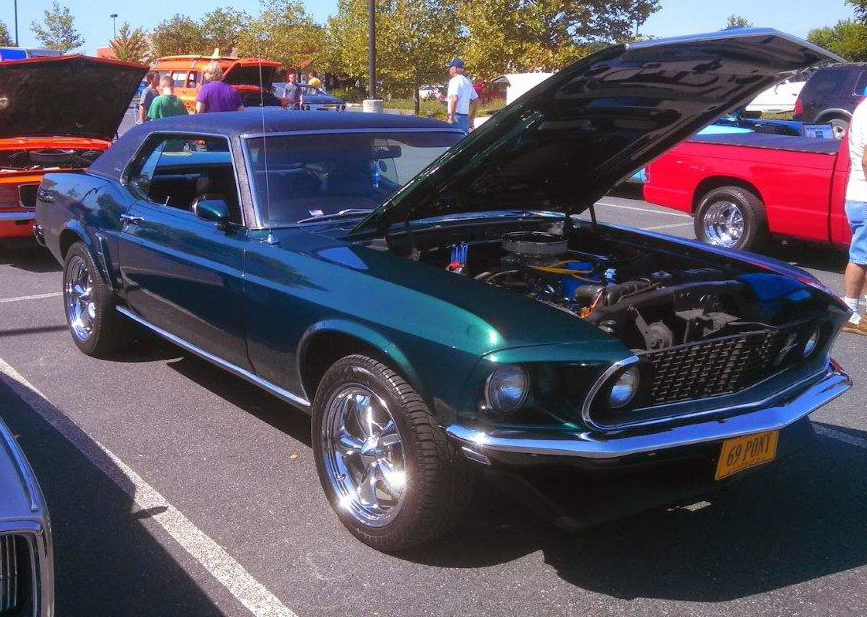 This 1969 Ford Mustang Grande is now a showpiece   Curt Wright photo