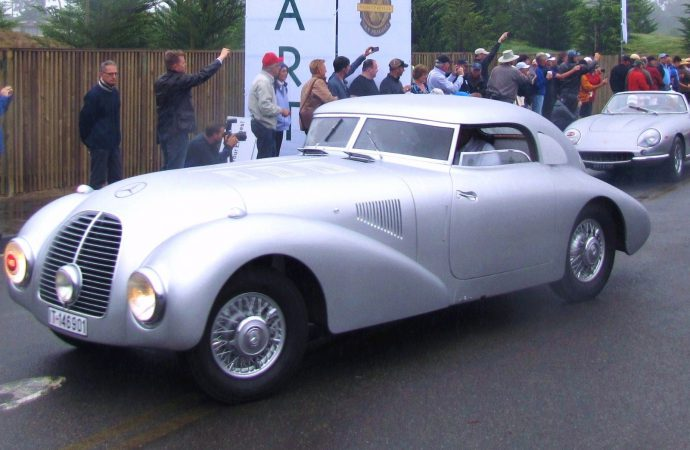 Mercedes-Benz Classic debuts long-lost Streamliner