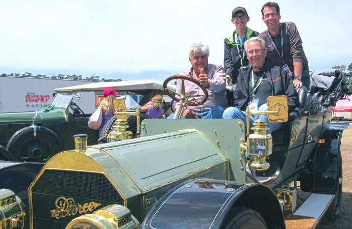 First-time Pebble Beach Concours entrant checks a big one off the bucket list