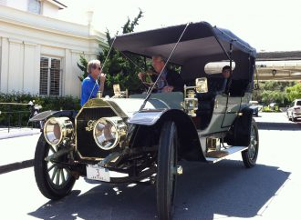 Tour d'Elegance completed, it's time to head to the fairway at Pebble Beach