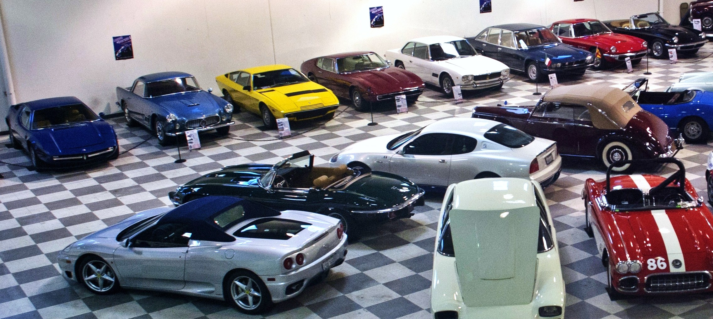 riverside automobile museum celebrates maserati s 100th year with