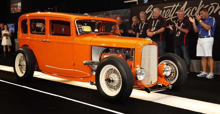 First Runner-up: 1932 Ford Four Door |Barrett-Jackson
