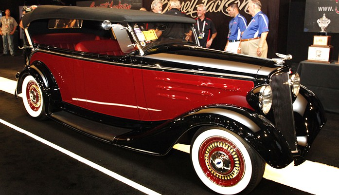Second Runner-up: 1934 Chevrolet Phaeton