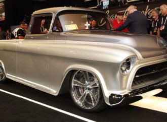 Custom '57 Chevy pickup wins Barrett-Jackson Cup