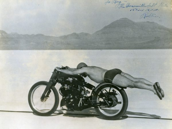 Simeone museum's classic motorcycle exhibition features Vincent, Brough Superior
