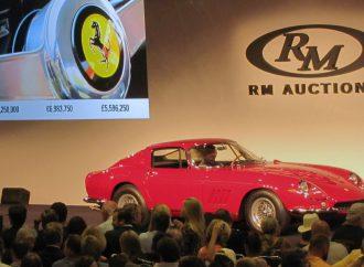 Steve McQueen magic boosts Ferrari auction