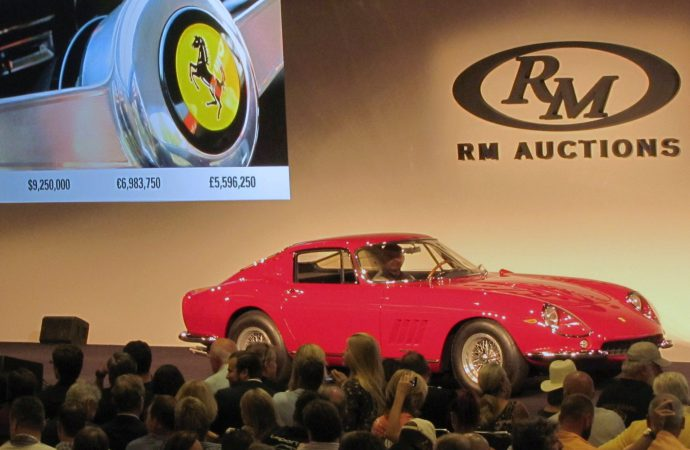 Steve McQueen magic boosts Ferrari auction