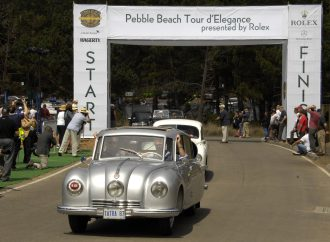 The Tour takes Pebble Beach concours on the road