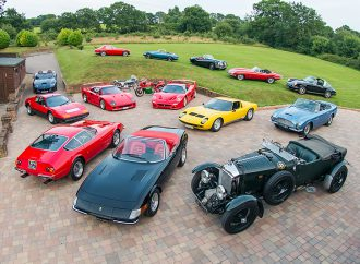 Stradale Collection offering cars and motorcycles at Silverstone's Salon Prive auction