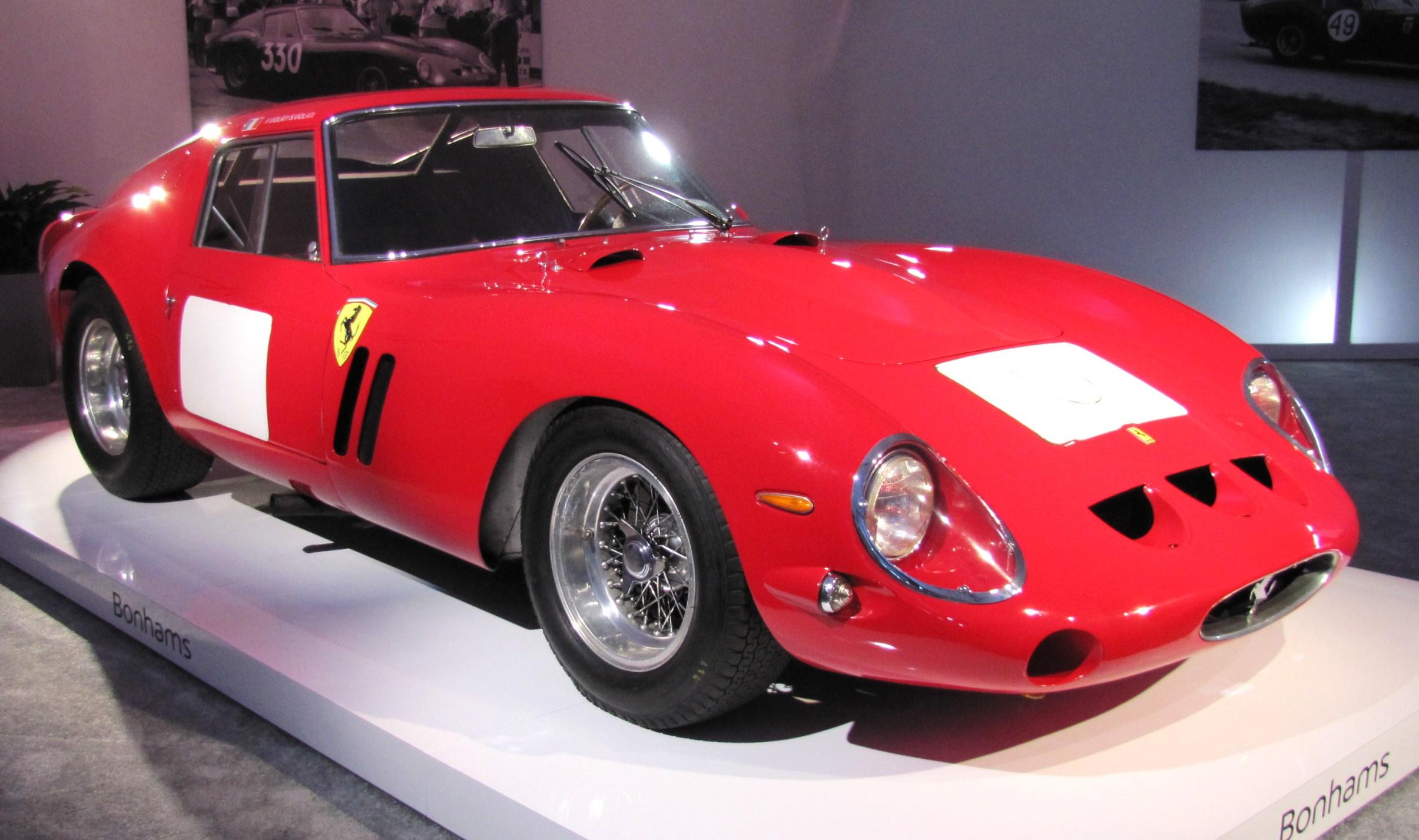 Ferrari 250 Gto Reaches 38 Million In Sale At Bonhams Classiccars