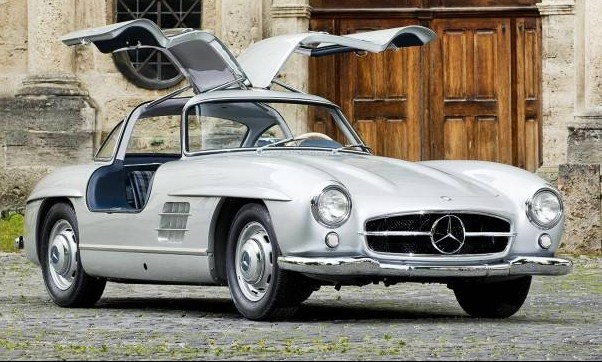 The 1954 Mercedes-Benz 300 SL Gullwing was reputedly built before full production started | Gooding