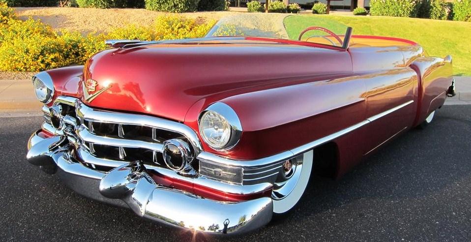 The unique 1952 Cadillac topless roadster   Barrett-Jackson