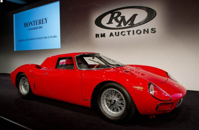 Another eight-figure sale at Monterey, this time at RM; Bonhams auction totals more than $100 million