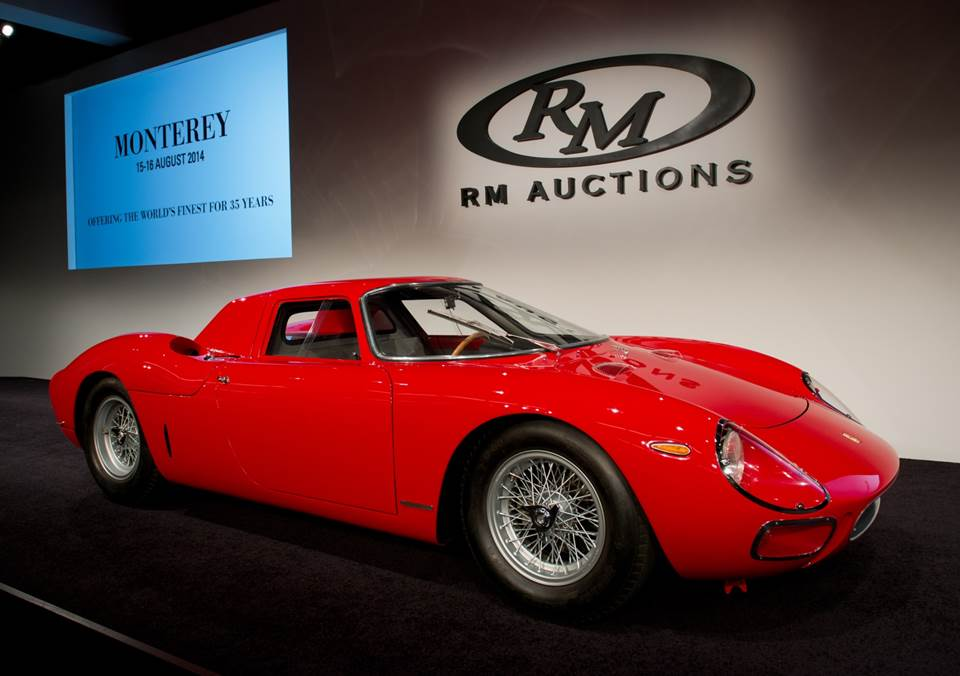 Another eight-figure sale at Monterey, this time at RM; Bonhams ...