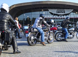 LeMay car museum hosts vintage-motorcycle show