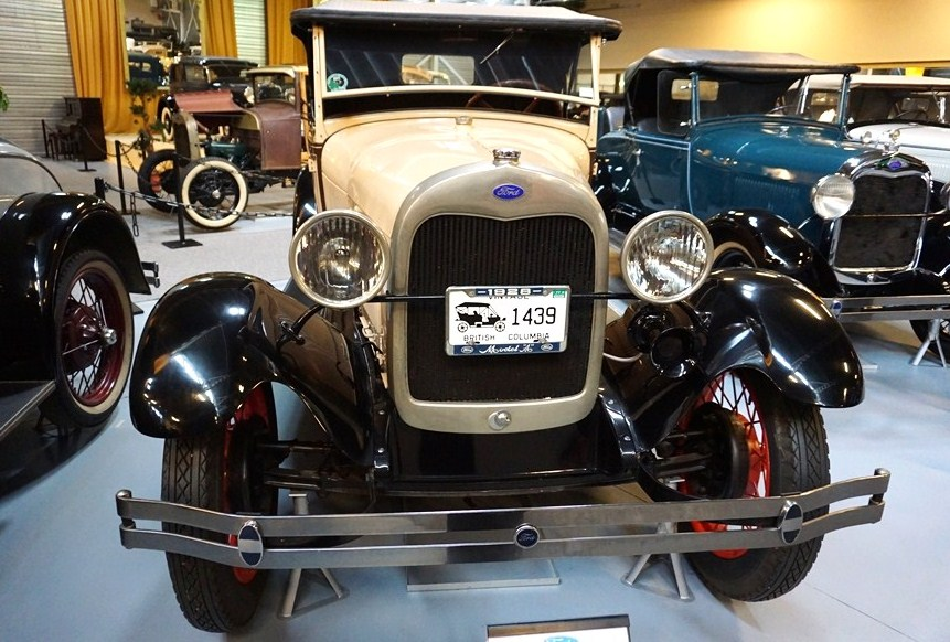This 1928 Model A roadster at the museum is being auctioned online| BVA Auctions
