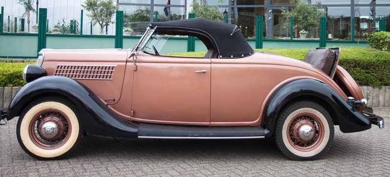 A rakish 1935 710 roadster with rumble seat | BVA Auctions