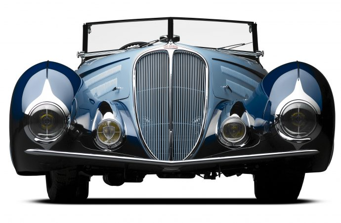 Mullins' 'Star of India' Delahaye acclaimed best of the beauties at new French concours