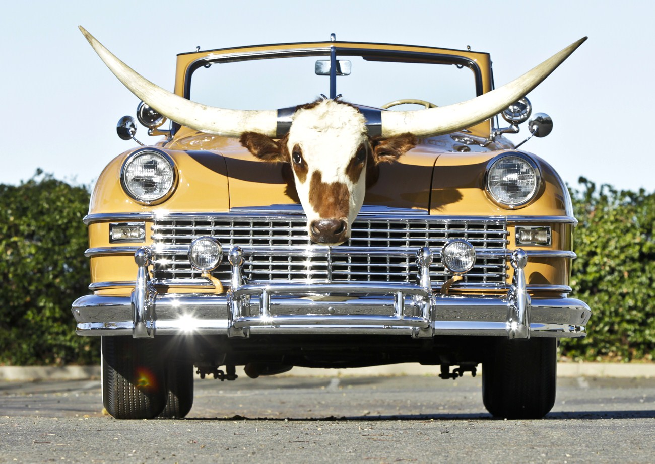 Custom Vehicle Horns : Amelia island concours rounds up cowboy cars class