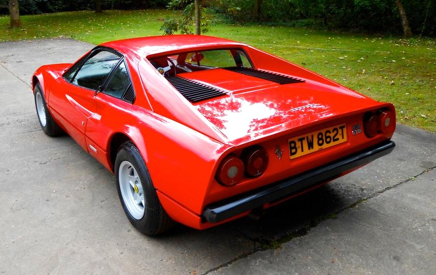 The 308s are powered by mid-mounted V8 engines | Silverstone Auctions