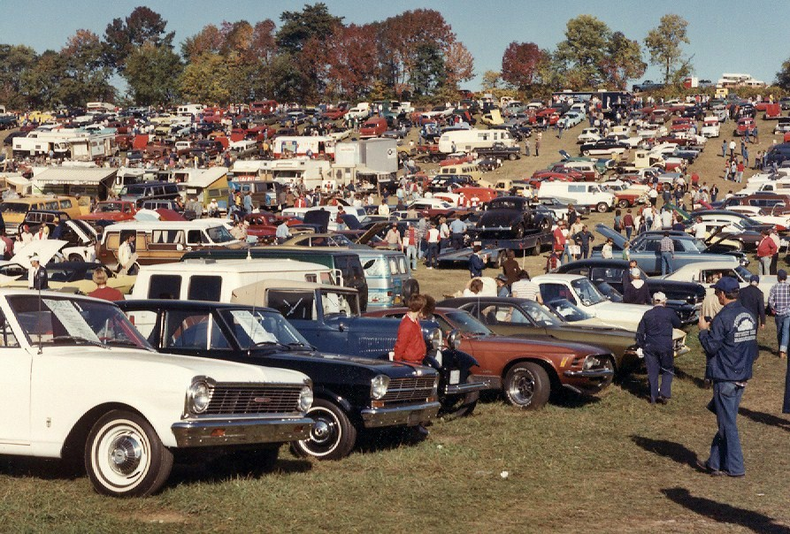 The 1982 Carlisle Fairgrounds event presented acres of cars and trucks for sale | Carlisle Events