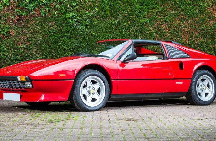 Ferrari 308s climb in value at British auction