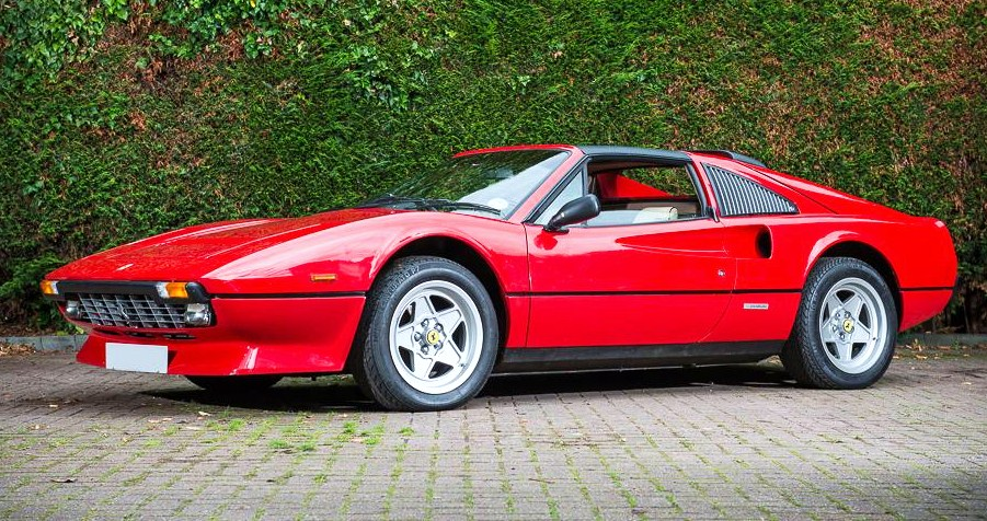 The top-selling car at Silverstone was a low-mileage Ferrari 308 GTS Quattrovalve | Silverstone Auctions