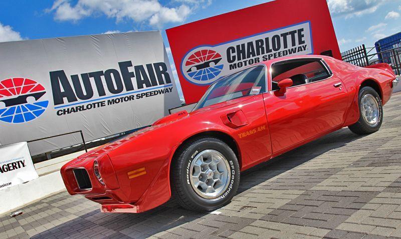 1973 Pontiac Trans Am declared Best of Show at Charlotte AutoFair | Charlotte Motor Speedway photo