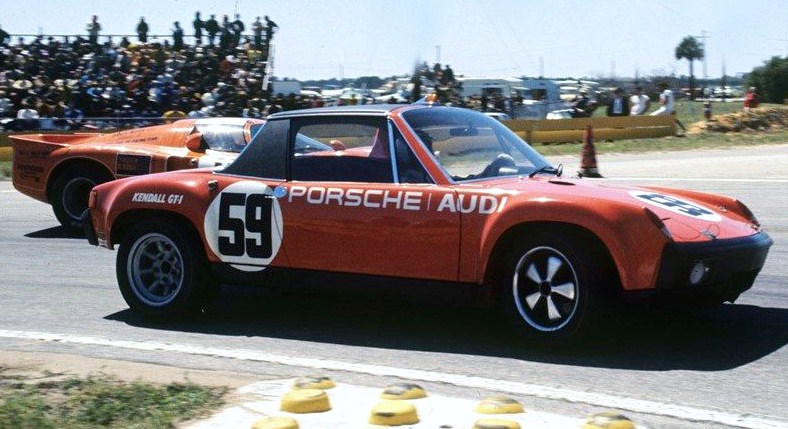 The 914-6 GT driven by Hurley Haywood and Peter Gregg at Sebring in 1971 | Bill Warner